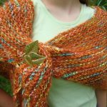 Mohair Knitting Patterns Shawl Rurification Mohair And Ribbon Triangle Shawl