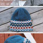 Norwegian Knitting Pattern Hat Knit The Norwegian Troll Hat Scandinavian Style Norwegian