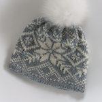 Norwegian Knitting Pattern Hat Knitted Hat In Merino Wool In Traditional Norwegian Pattern