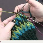 Norwegian Knitting Pattern Hat Three Color Stranding Youtube