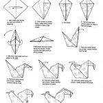 Origami Animals Instructions Origami Rooster Instructions Google Search Origami Pinterest