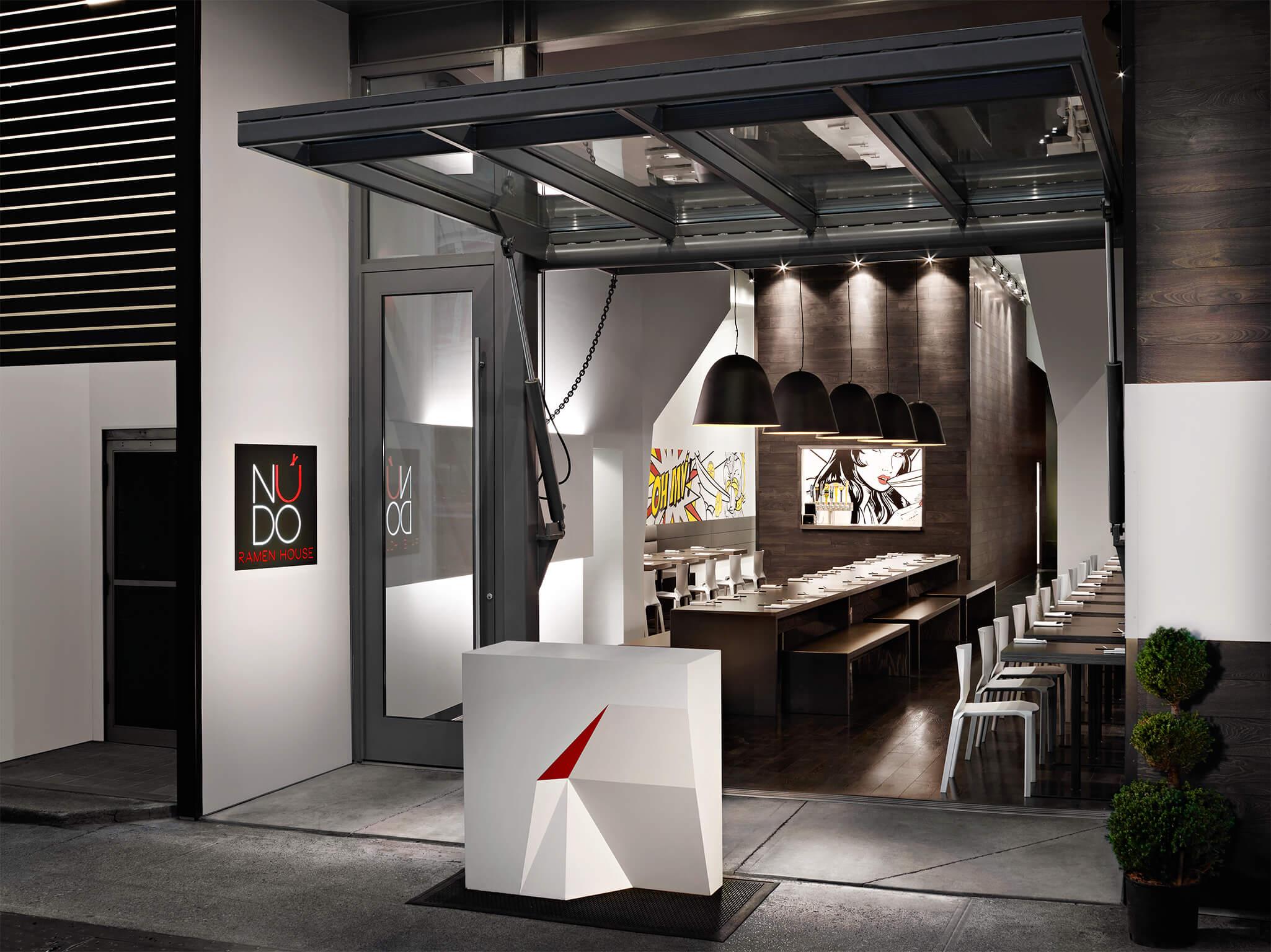 Origami Architecture Design Hdg Architecture Nudo Ramen House