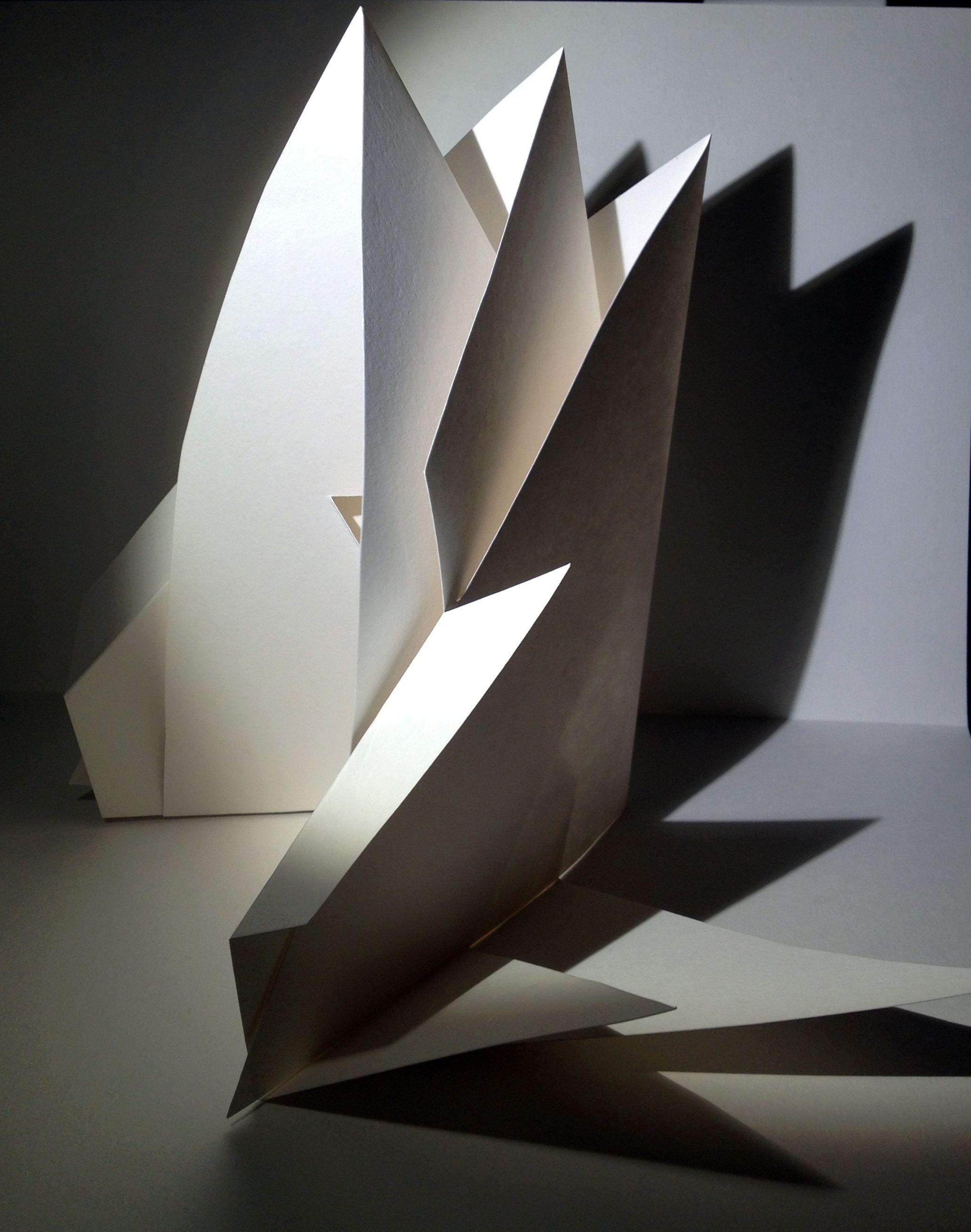 Origami Architecture Design Paper Structure Paper Art 3 D Paper Structure Paper Folding
