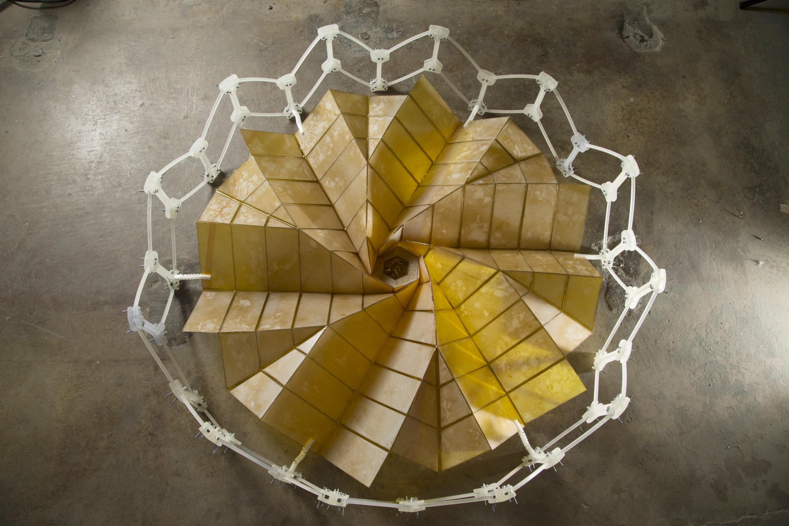 Origami Architecture Design Unfolding Origami Engineering Quark Magazine