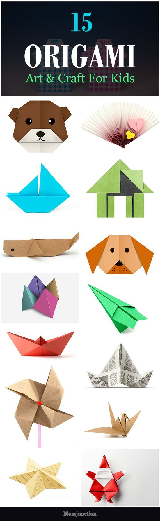 Origami Art Projects For Kids Top 15 Paper Folding Or Origami Crafts For Kids Everything For