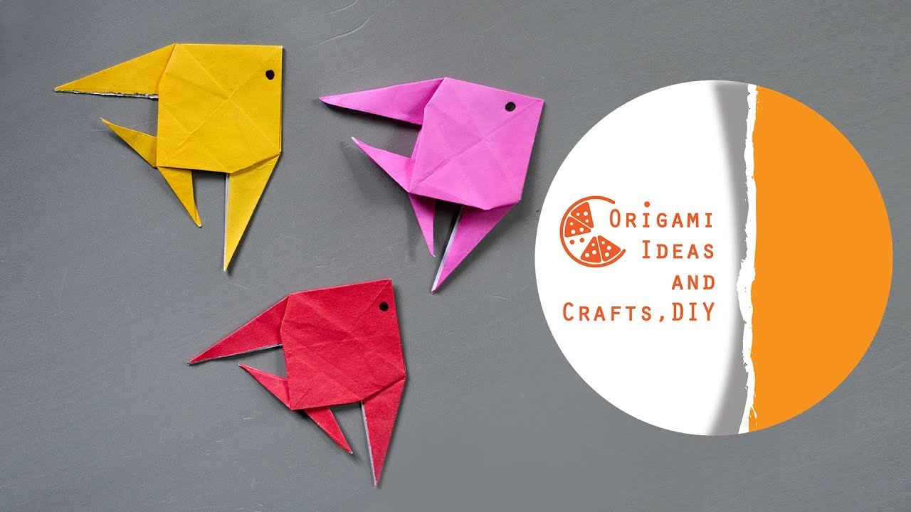 Origami Crafts For Kids Fish Diy Origami Easy Fish Diy Origami For Beginners And Kids