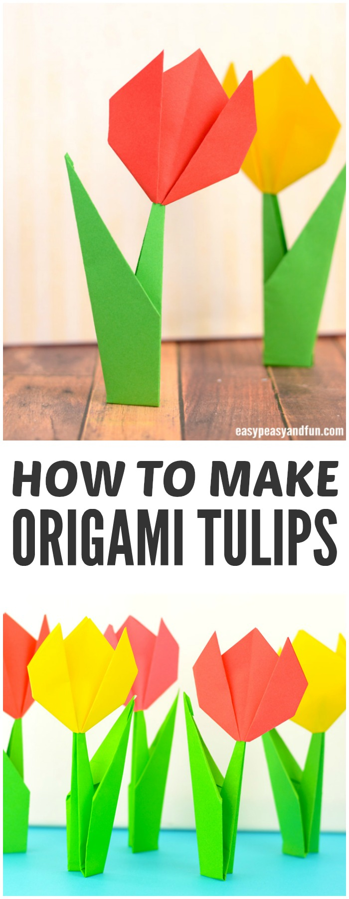 Origami Crafts For Kids How To Make Origami Flowers Origami Tulip Tutorial With Diagram