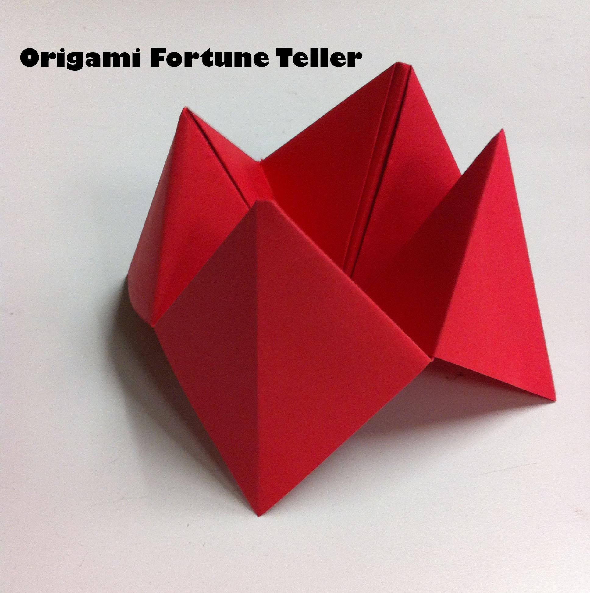Origami Crafts For Kids Kids Crafts Easy Origami Fortune Teller The Jumpstart Blog