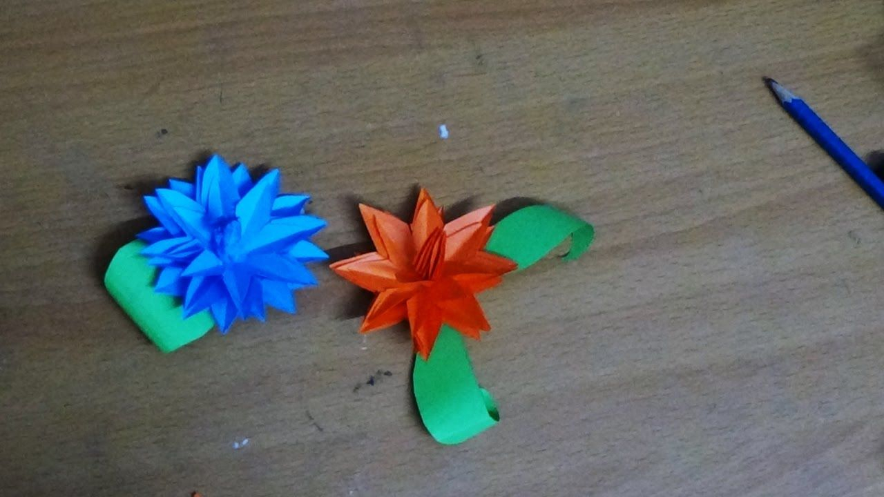 Origami Crafts For Kids Kids Easy Origami Crafts How To Make Origami Water Lily Origami