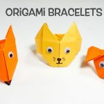 Origami Crafts For Kids Origami Bracelets Fun Origami Craft Ideas For Kids Youtube