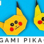 Origami Crafts For Kids Pokmon Origami Crafts How To Fold Origami Pikachu Pokmon Go