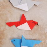 Origami Crafts For Kids Simple Origami Birds For Kids Origami Pinterest Origami