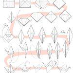 Origami Crane Instructions Origami Crane Instructions Tavins Origami