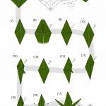Origami Crane Instructions Pin Eri On Paper Cranes Pinterest Origami Origami Dragon And