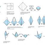 Origami Crane Instructions Pin Jeffrey Vangorden On Things To Build Pinterest Origami