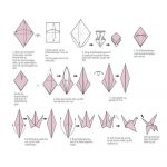 Origami Crane Instructions Printable Instructions For Origami Crane Unique Make Ori On Easter