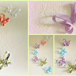 Origami Decoration Bedroom Diy Room Decor 3d Paper Butterflies Youtube