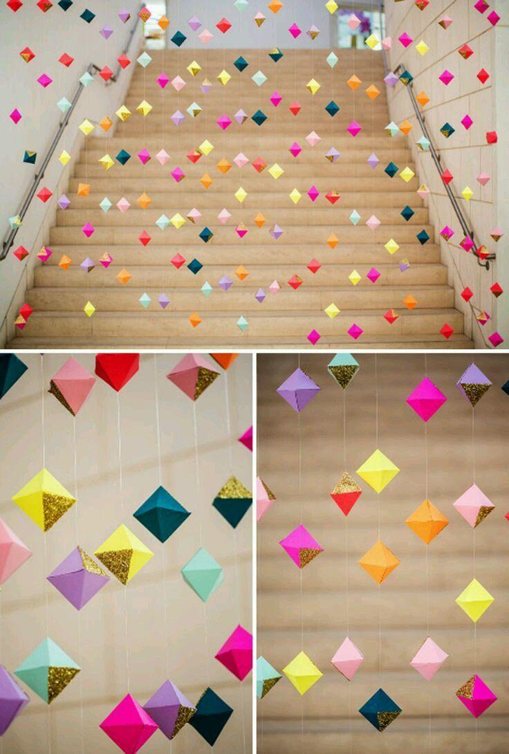 Origami Decoration Bedroom Diy Room Decor Tumblr Google Sgning Miyako Pinterest Diy