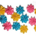 Origami Decoration Diy Diy Simple Origami Paper Flowers Easy Wall Home Decoration