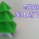 Origami Decoration Diy Origami Christmas Tree Origami Easy Youtube