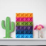 Origami Decoration Diy Wall Art Beautiful Ideas Origami Wall Decorations Sudaak