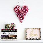 Origami Decoration Diy Wall Art Diy 3d Origami Heart Deco Pinterest Origami Hearts 3d