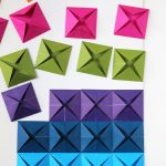 Origami Decoration Diy Wall Art Easy Origami Wall Art Crafts And Diy 2 Pinterest Origami