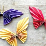 Origami Decoration Diy Wall Art Easy Paper Butterfly Red Ted Arts Blog