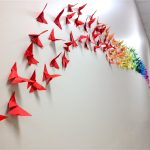 Origami Decoration Diy Wall Art How To Make An Origami Butterfly Cool2bkids