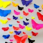 Origami Decoration Diy Wall Art How To Make Paper Butterflies Wall Decor Diy Crafts Youtube