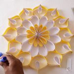 Origami Decoration Diy Wall Art How To Make Wall Decoration With Paper Easy Diy Home Decor Ideas
