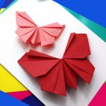 Origami Decoration Diy Wall Art Origami Butterfly Easy To Do Paper Butterfly Wall Decoration
