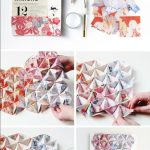 Origami Decoration Diy Wall Art Things Ive Made From Things Ive Pinned Diy 3d Origami Wall Art