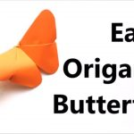 Origami For Beginners Step By Step Easy Origami Butterfly Origami Tutorial For Beginners Paper