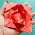 Origami For Beginners Step By Step How To Fold A Simple Origami Flower 12 Steps With Pictures