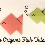 Origami For Beginners Step By Step Making Cute Origami Fish In 5 Steps