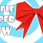 Origami For Beginners Step By Step Origami Gift Bow Ribbon Easy Video Instructions Youtube
