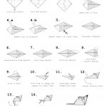 Origami For Beginners Step By Step Origami Mouse Instructions Tavins Origami