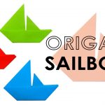 Origami For Beginners Step By Step Origami Tutorial Easy Origami Sailboat Folding Instructions Step