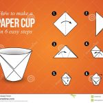 Origami For Beginners Step By Step Step Step Instructions How To Make Origami Pig Stock Vector