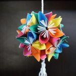 Origami Kusudama Flower How To Make 3d Origami Kusudama Flowers How To Make Youtube