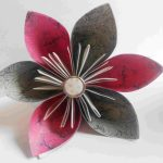 Origami Kusudama Flower How To Make How To Make An Origami Kusudama Flower