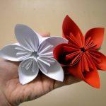 Origami Kusudama Flower How To Make Origami Kusudama Flower Easy Paper Crafts Flower Making Diy