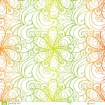 Origami Paper Pattern Abstract Floral Background Stock Vector Illustration Of Delicate