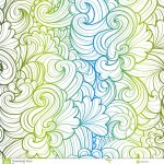 Origami Paper Pattern Floral Background Stock Vector Illustration Of Line 35061235
