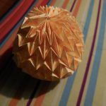 Origami Paper Pattern Origami Magic Ball 7 Steps