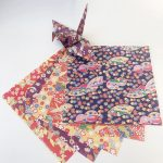 Origami Paper Pattern Origami Paper Sheets Japanese Style Pattern Chiyogami 10 Etsy