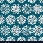 Origami Paper Pattern Seamless Christmas Pattern Origami Paper White Vector Image