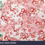 Origami Paper Pattern Traditional Japanese Pattern Origami Paper Stock Photo 75959413 Alamy