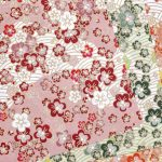 Origami Paper Pattern Traditional Japanese Pattern Origami Paper Texture Background Stock